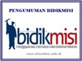 JADWAL PENDAFTARAN BIDIKMISI 2017 *UPDATE